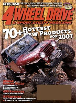 4 Wheel Drive & Sports Utility Magazine Subscription
